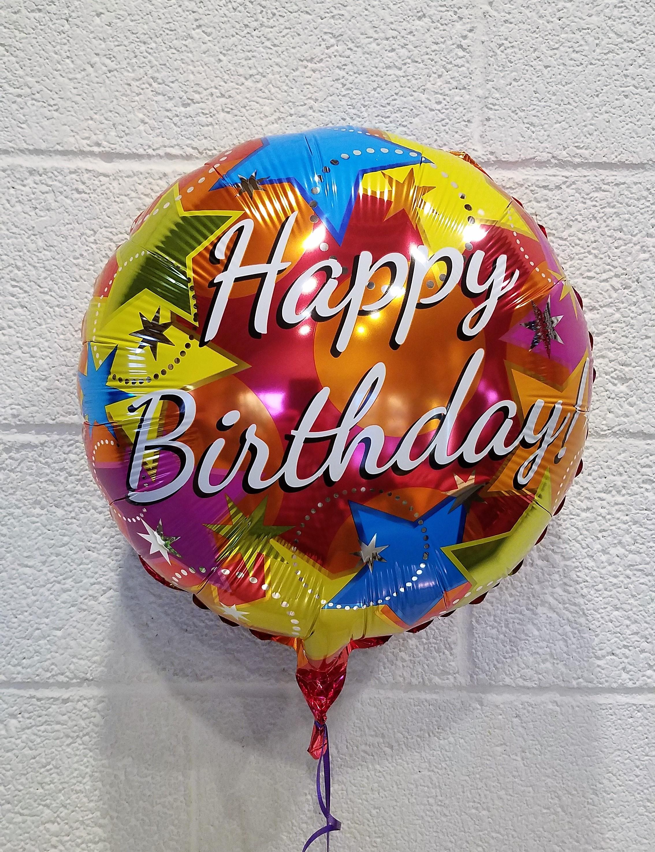 Unique birthday flowers for charlottesville va 22901 22902 birthday foil balloon izmirmasajfo