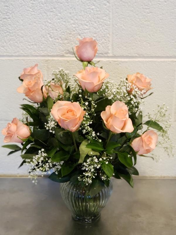 Dozen Roses The Flower Shop