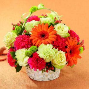 Best Year Basket The Flower Shop