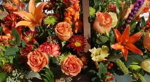 Designers Choice Grand Autumn Bouquet The Flower Shop